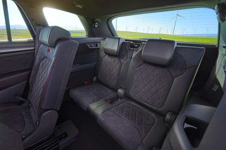 Skoda Kodiaq vRS rear interior