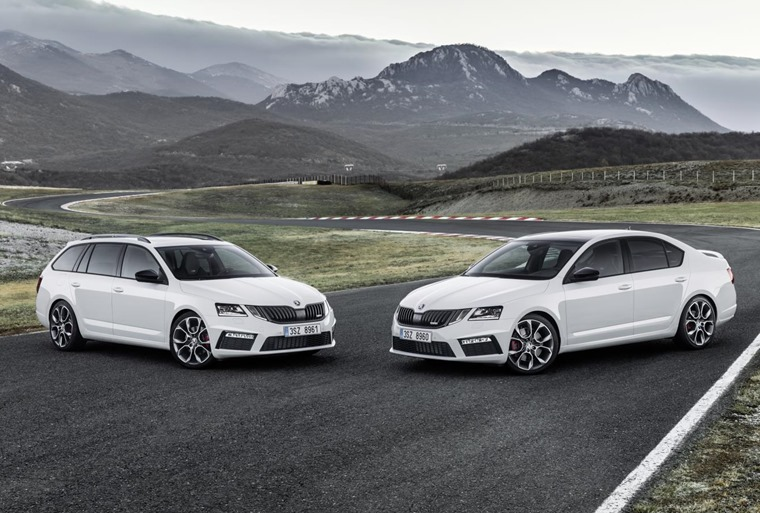 This is a mid-life refresh for Skoda's flagship family hatchback