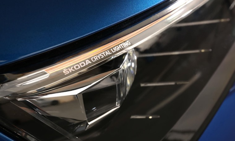 Skoda Scala 2019 lighting detail