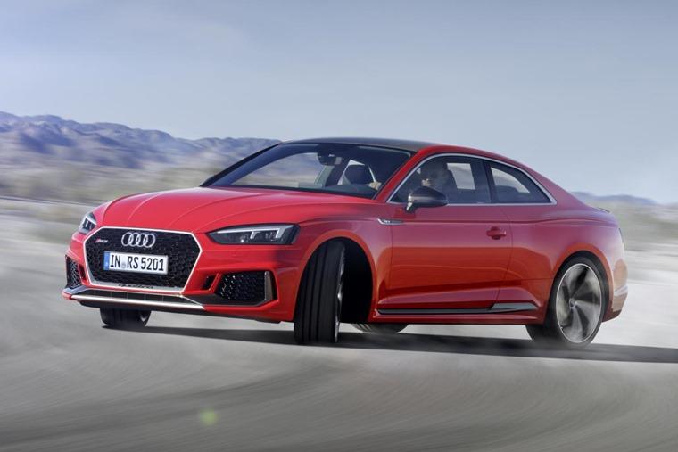 Audi RS 5 2017 on track