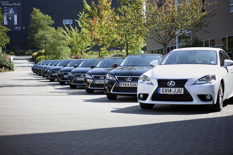 Slimming World Lexus fleet order