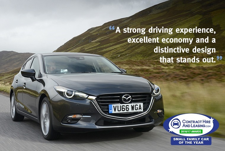 Best Small Family Car - Mazda 3