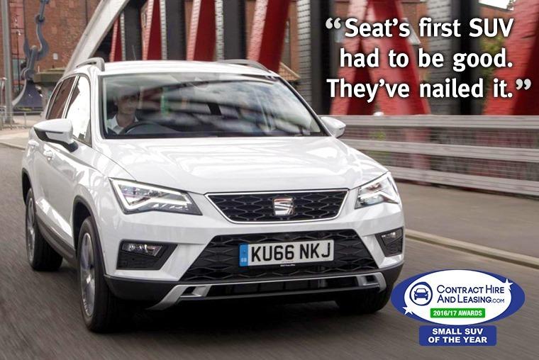 Best Small SUV - Seat Ateca