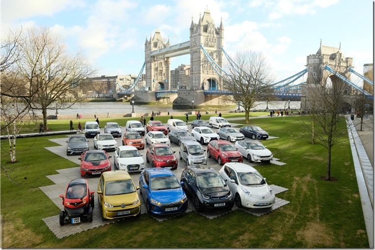 There are currently some 83 different alternatively fuelled cars and vans available