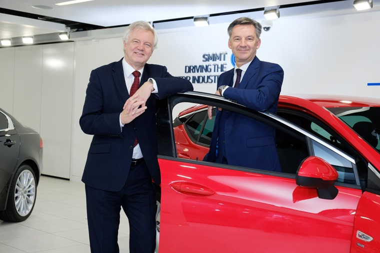 Brexit uncertainty has been blamed for the UK's stalling new car registration numbers.