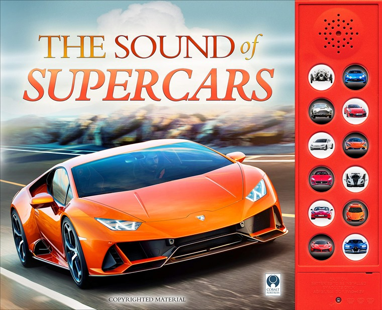 Sound of Supercars book