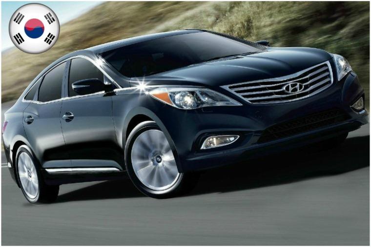 South Korea Hyundai Grandeur