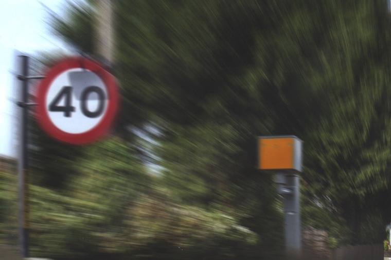 Britain's road policing chief has something to say about speed limits...