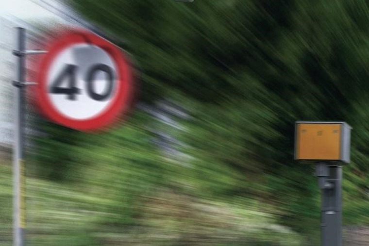40mph zone speed camera