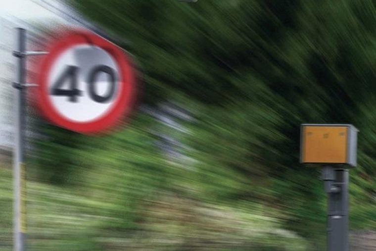 40mph zone speed camera