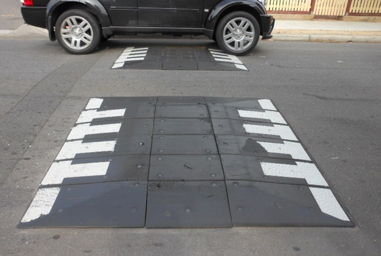 Is it a national government's responsbility, or should the future of speed humps be left up to local authorities?