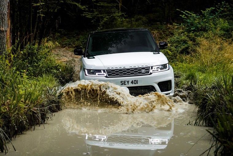 It is keen to demonstrate that hybrid tech does not necessarily mean sacrifices as far as off-road ability is concerned.