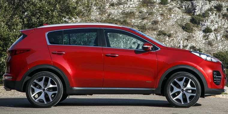 Deal of the Year 2016 - Kia Sportage - Leasing Options
