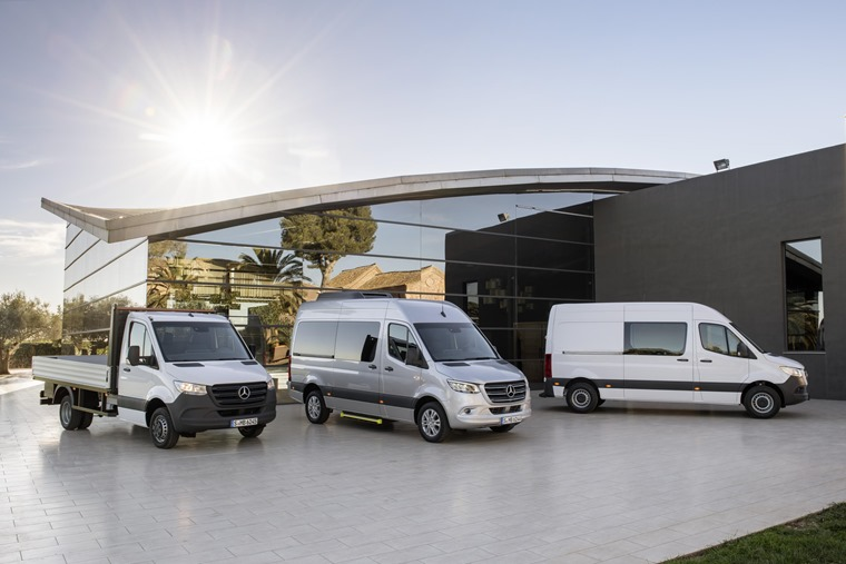 Mercedes is set to offer the Sprinter in up to 1,700 body styles.