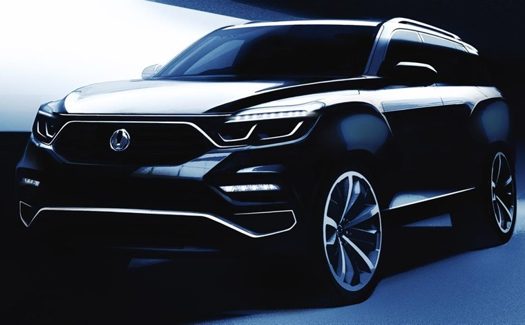 SsangYong's Rexton replacement will be unveiled in full next week.