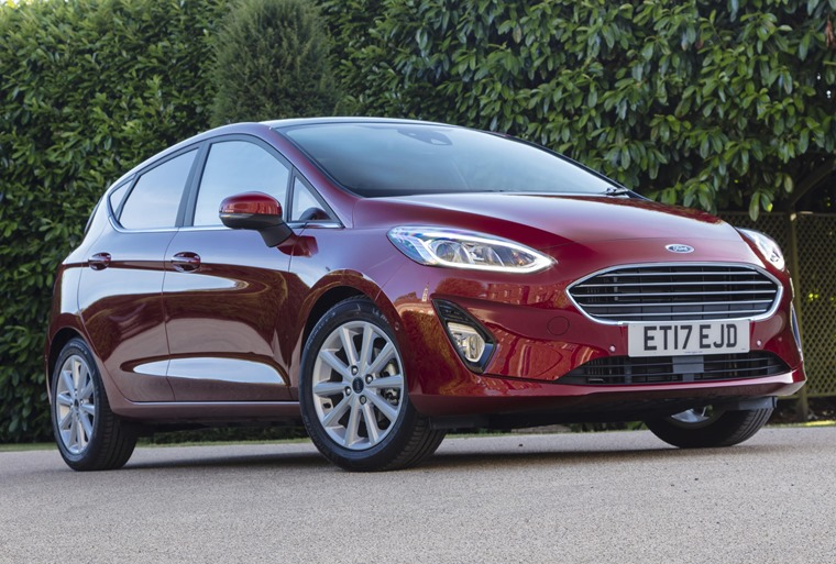 Ford Fiesta 2017 static