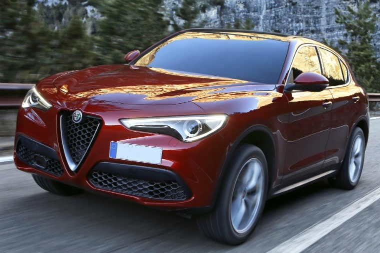 Best 67 plates – Alfa Romeo Stelvio
