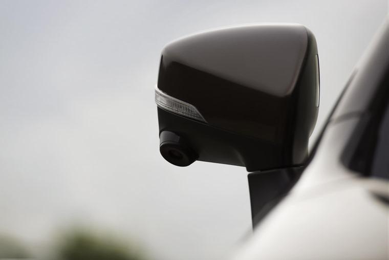 Subaru Outback side camera