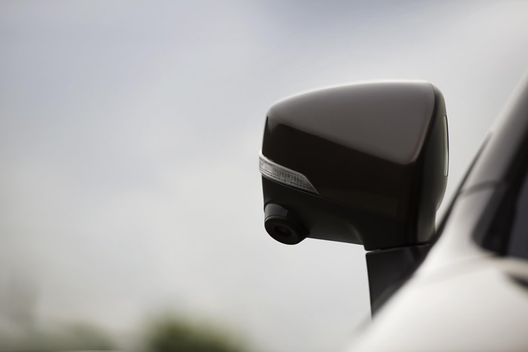 Subaru Outback side camera
