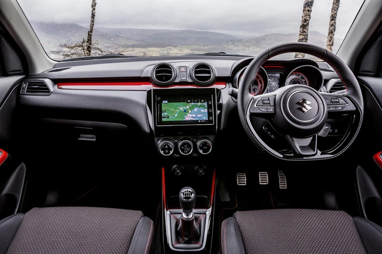 Suzuki Swift Sport 2018 Interior