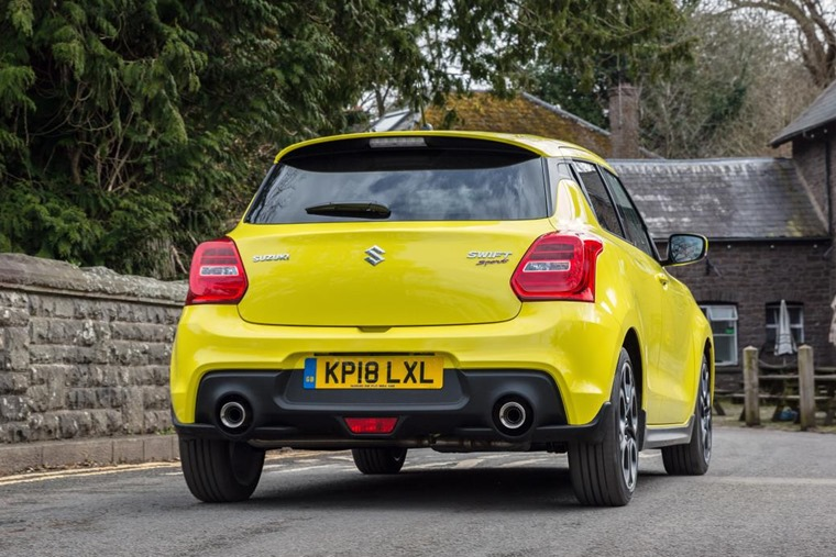 Suzuki Swift Sport 2018 Rear
