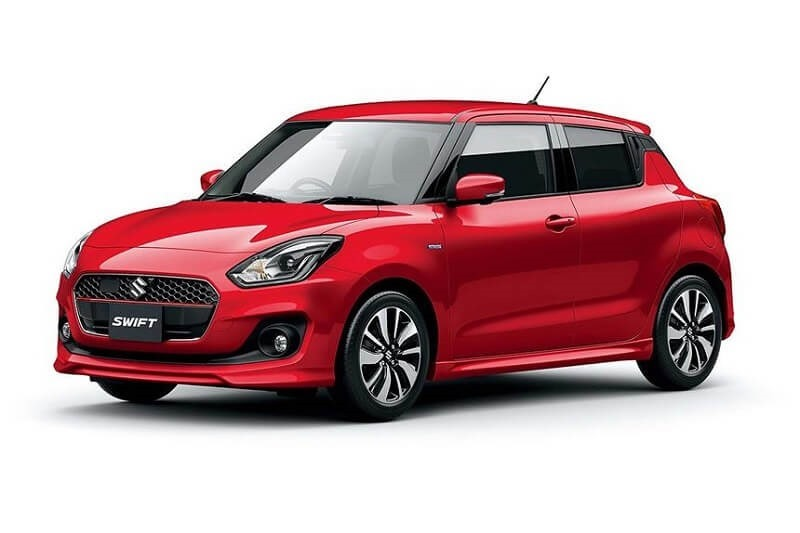 Images were leaked ahead of the Swift's Japanese launch last year, giving us a glimpse of what we can expect to see.