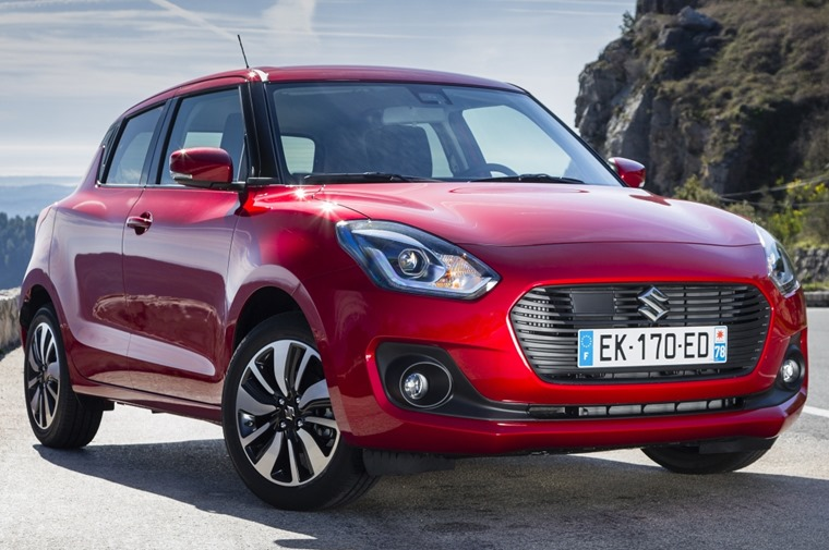 New Suzuki Swift lead