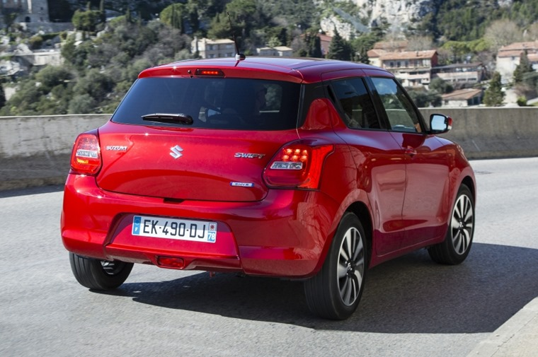 New Suzuki Swift lead rear