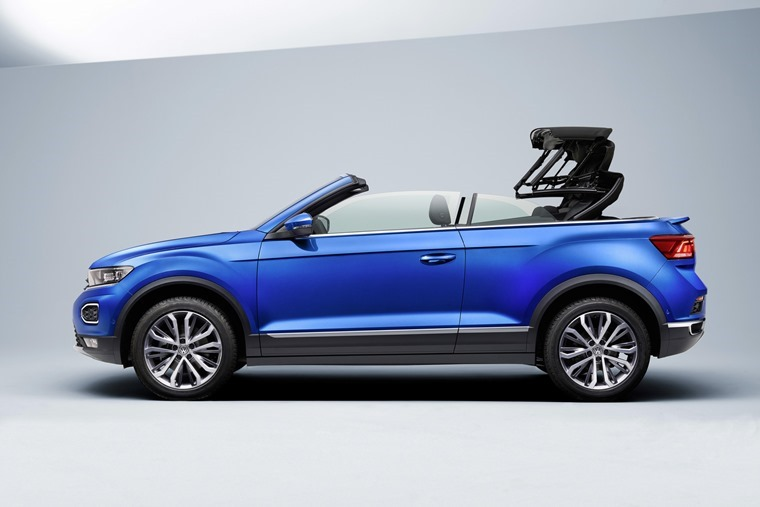 T-Roc Cabriolet side