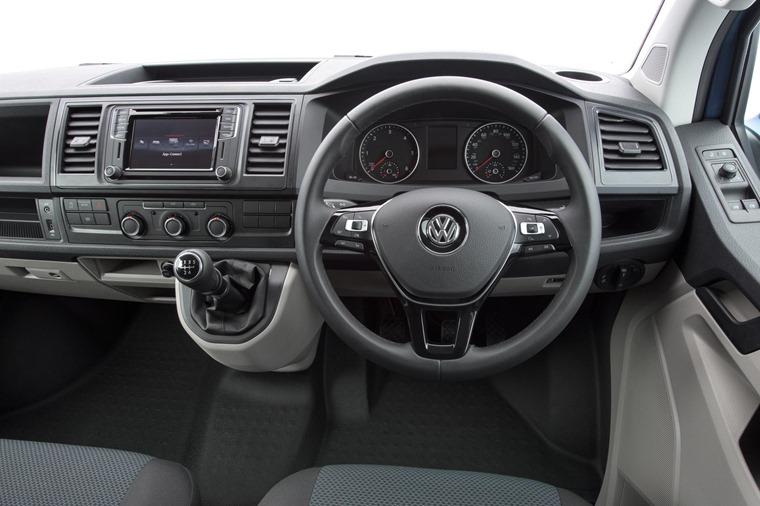 Volkswagen Transporter cabin