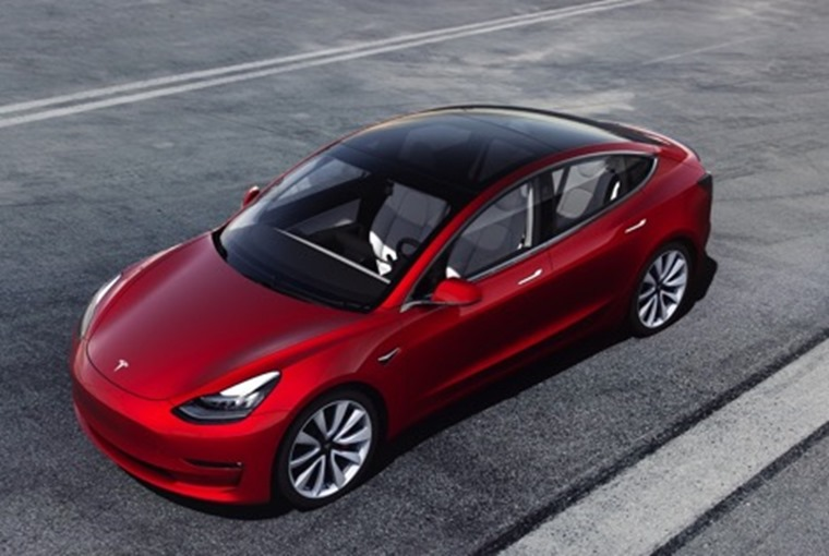 Tesla Model 3 styling