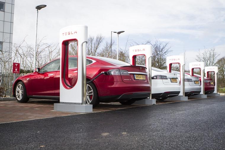Tesla Supercharger- Maidstone