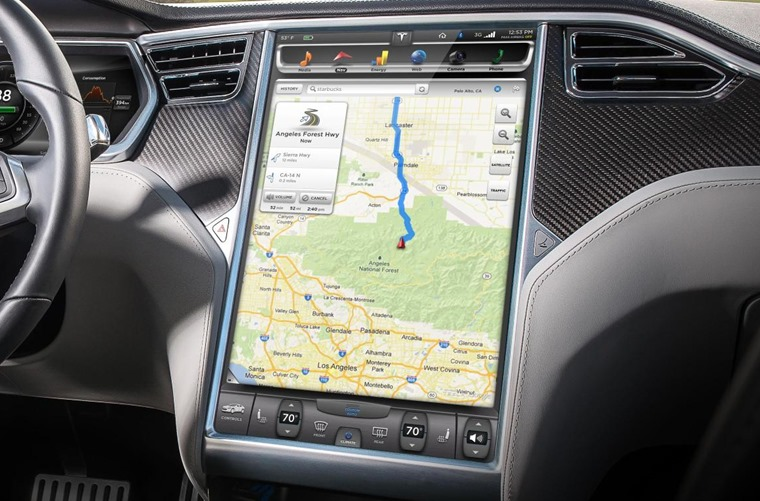 Improvements include clearer maps and a more intuitive touchscreen.