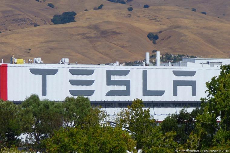 Tesla factory - California