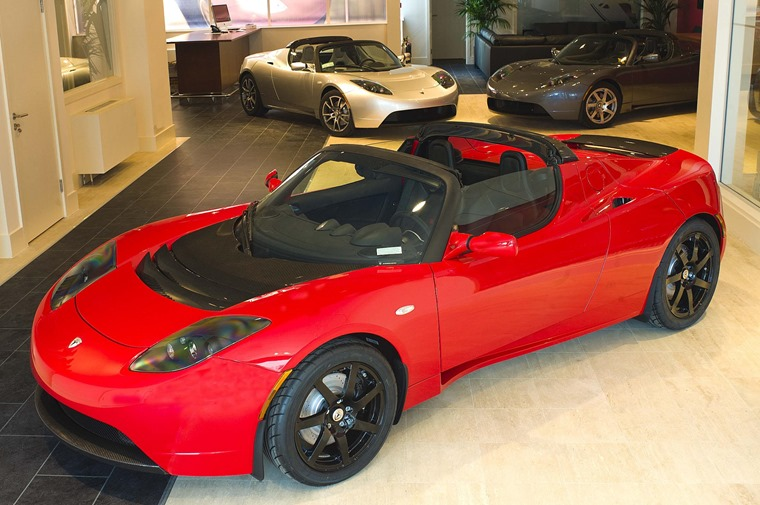This is the old, Lotus-based Tesla Roadster. Could we expect an all-new version?