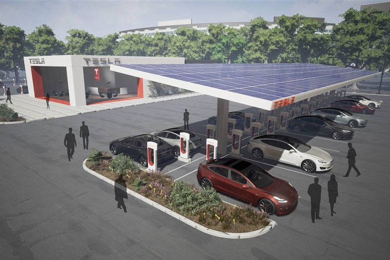 """To truly advance electric vehicle adoption, we must continue investing in charging infrastructure,"" says Tesla"