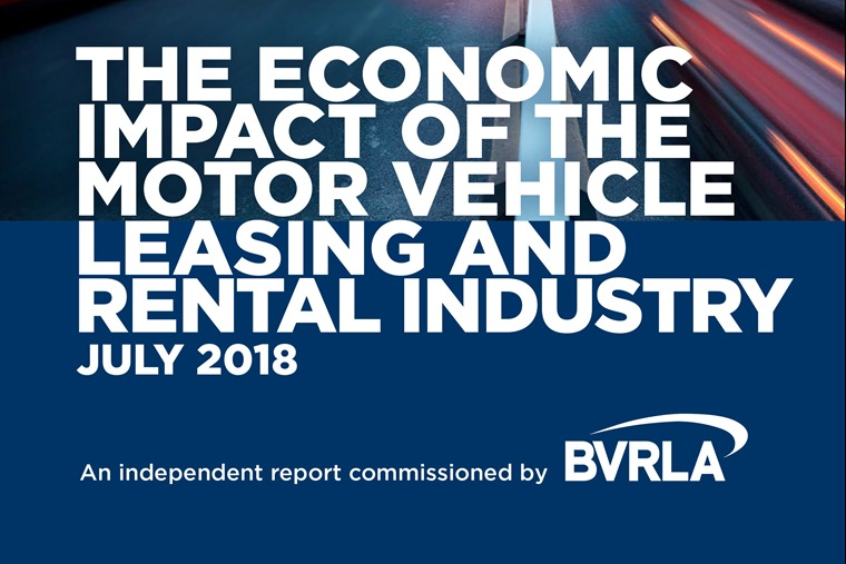 The Economic Impact of the Motor Vehicle Leasing and Rental Sector - July 2018