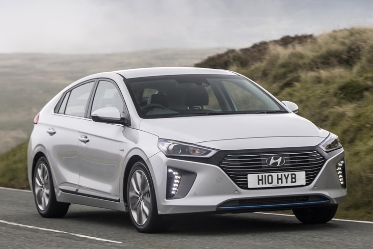 Ioniq: available as a hybrid, plug-in and EV.