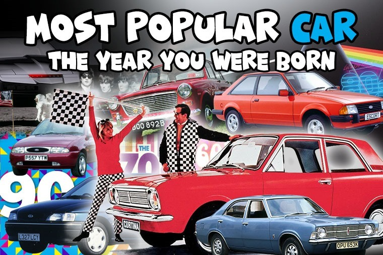 The most popular car the year you were born