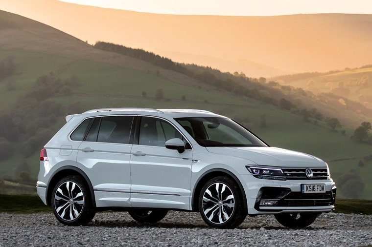 Volkswagen Tiguan for under £250 a month.
