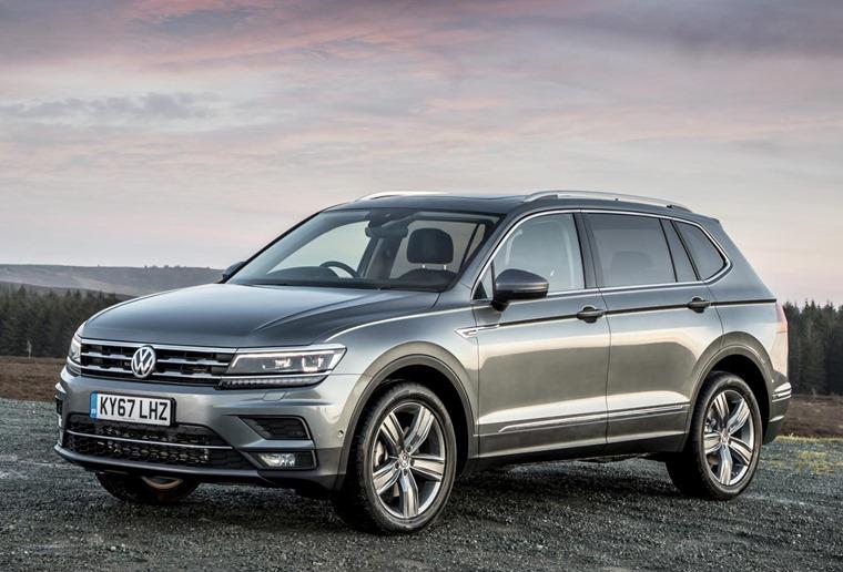 Volkswagen Tiguan Allspace for under £300 a month.