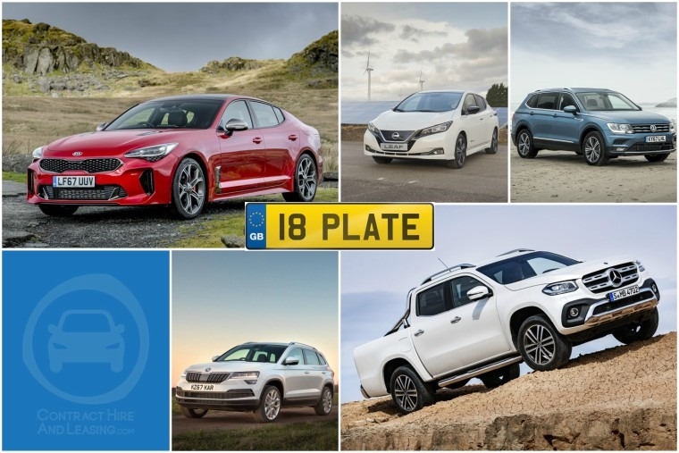 Top five new cars for the new 18 plate