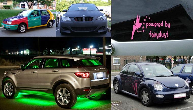 Top five crimes against cars