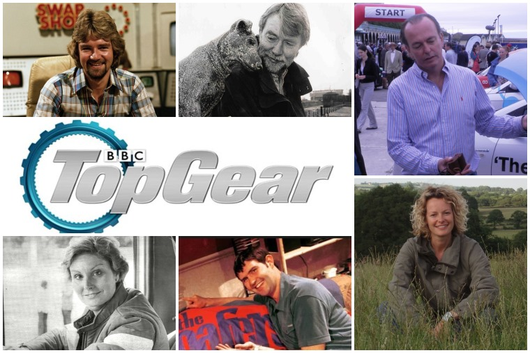 Top Gear presenters through the years