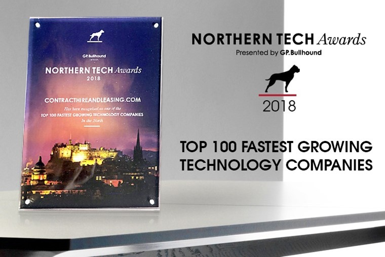 ContractHireAndLeasing has been ranked as one of the fastest growing companies in the north.