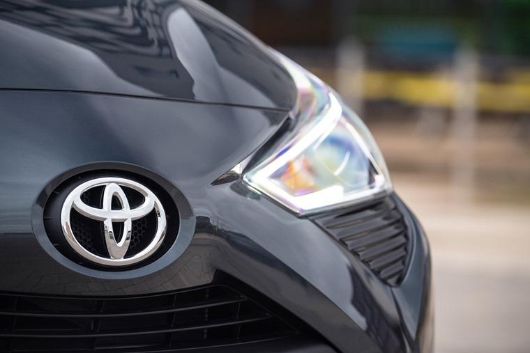 Toyota Aygo exterior detail