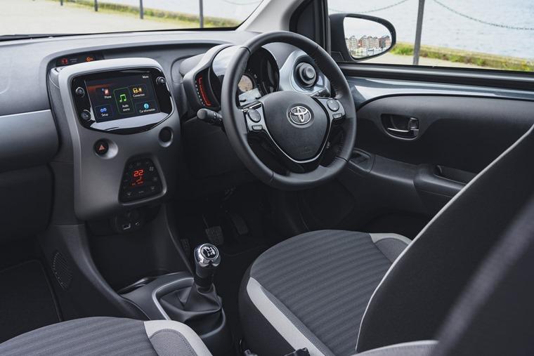Toyota Aygo interior