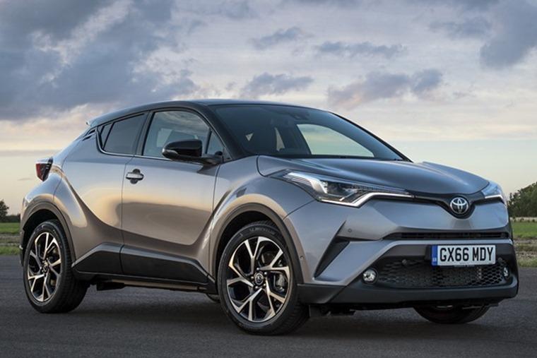 Toyota C-HR hybrid lease deals under £250