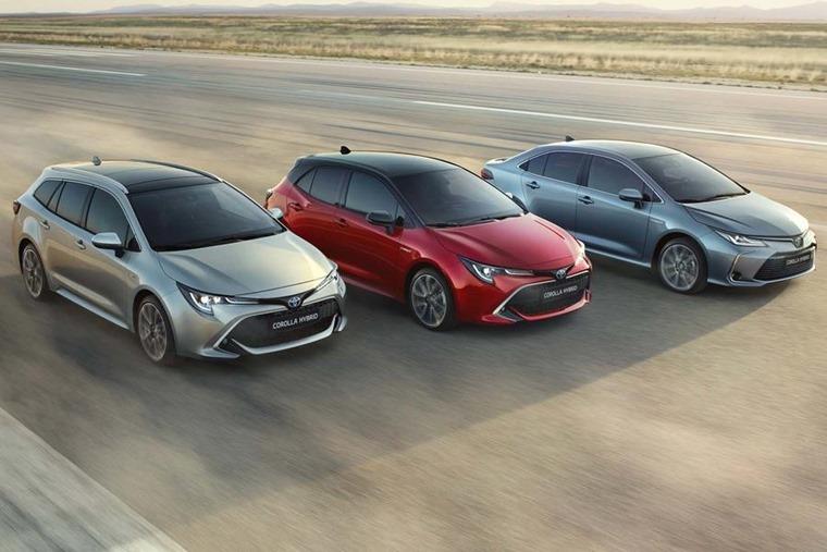Toyota Corolla range 2019