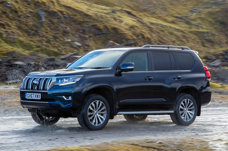 Toyota Land Cruiser 2018 side